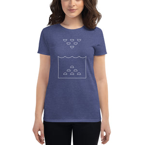 Day 5 Women's T-shirt: Outline