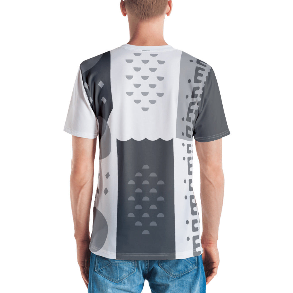 Creation Week Men's T-shirt: Grayscale
