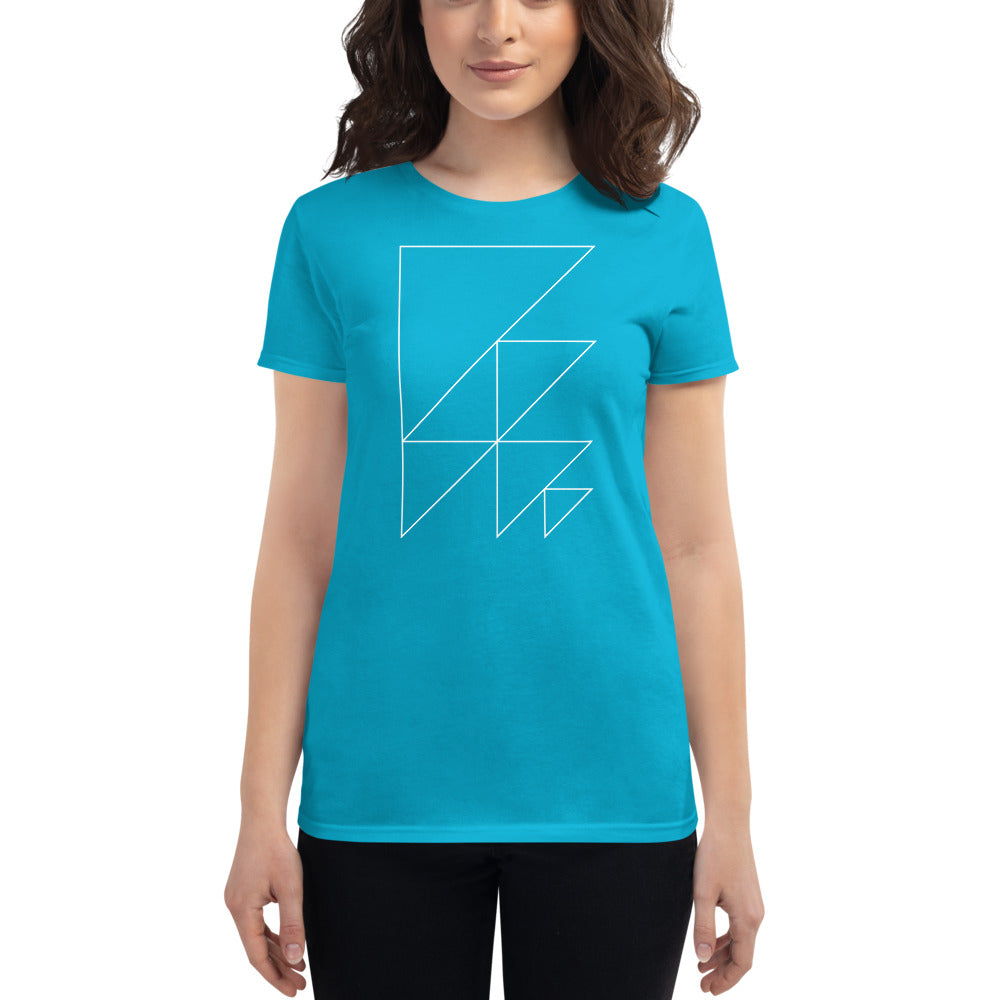Day 1 Women's T-shirt: Outline