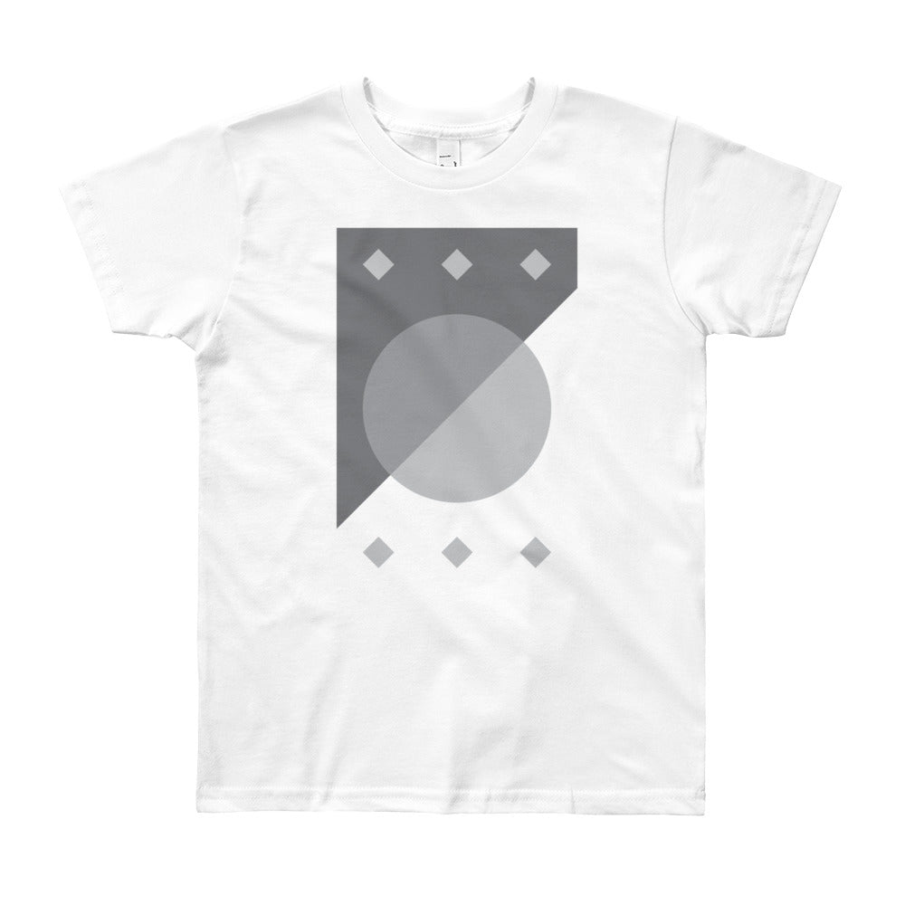 Day 4 Youth T-shirt: Grayscale