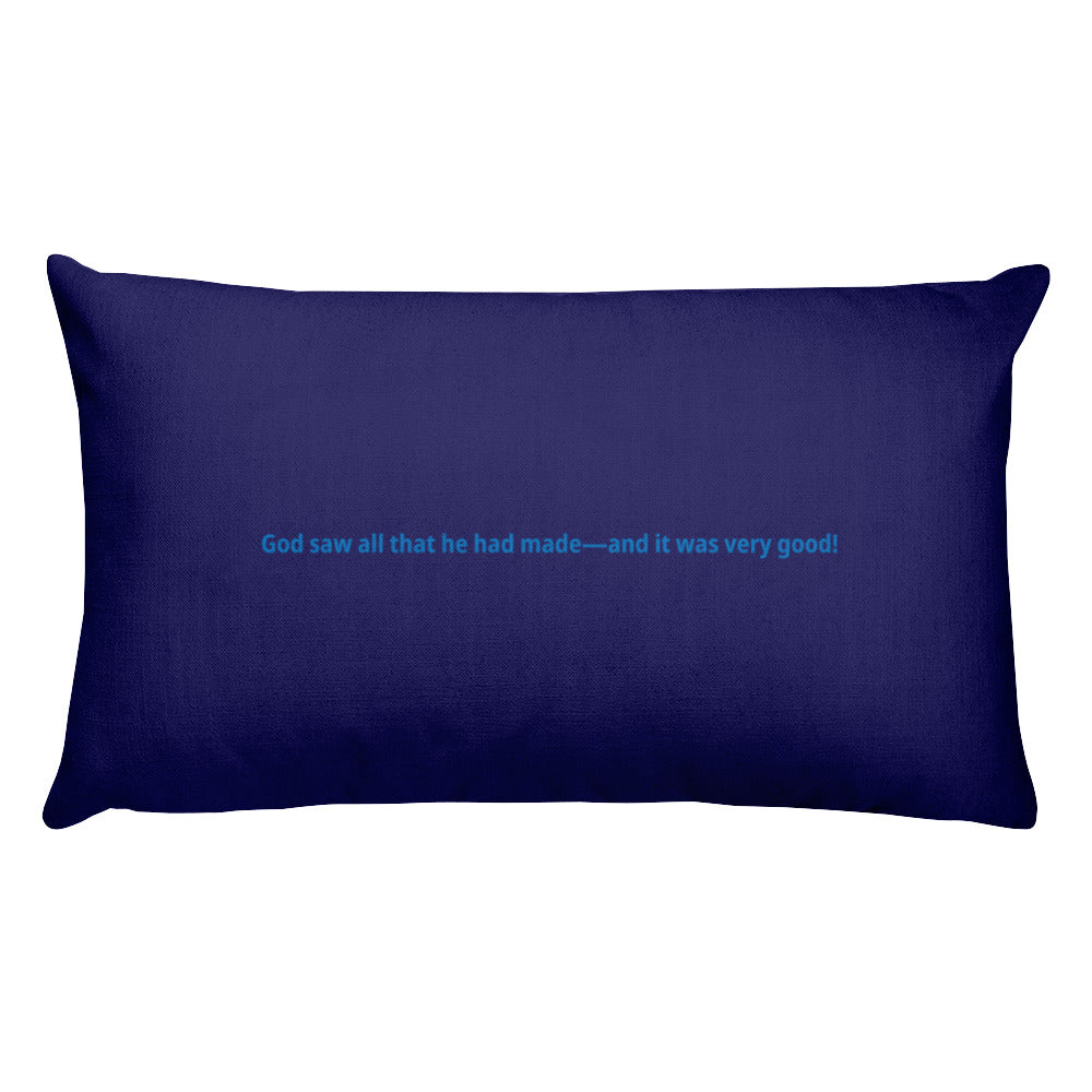Creation Week Pillow
