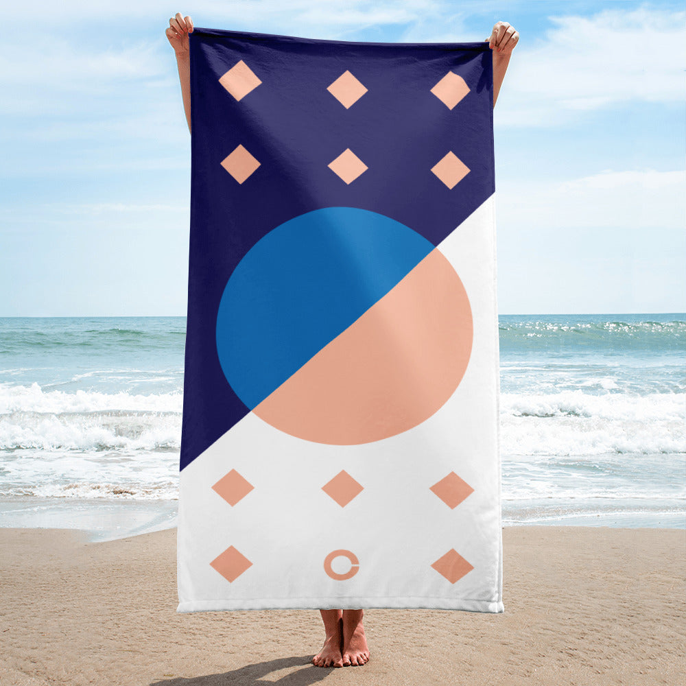Day 4 Beach Towel