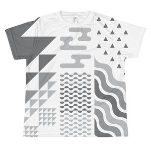 Creation Week Youth T-shirt: Grayscale