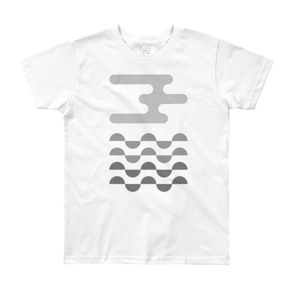 Day 2 Youth T-shirt: Grayscale