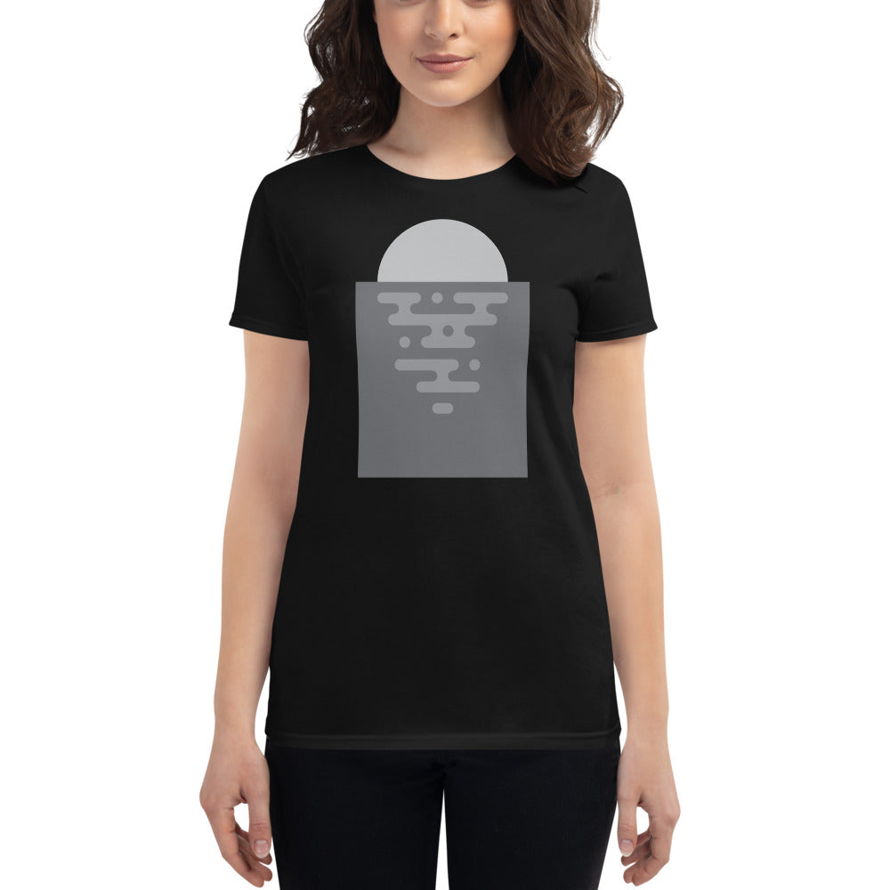 Day 7 Women's T-shirt: Grayscale