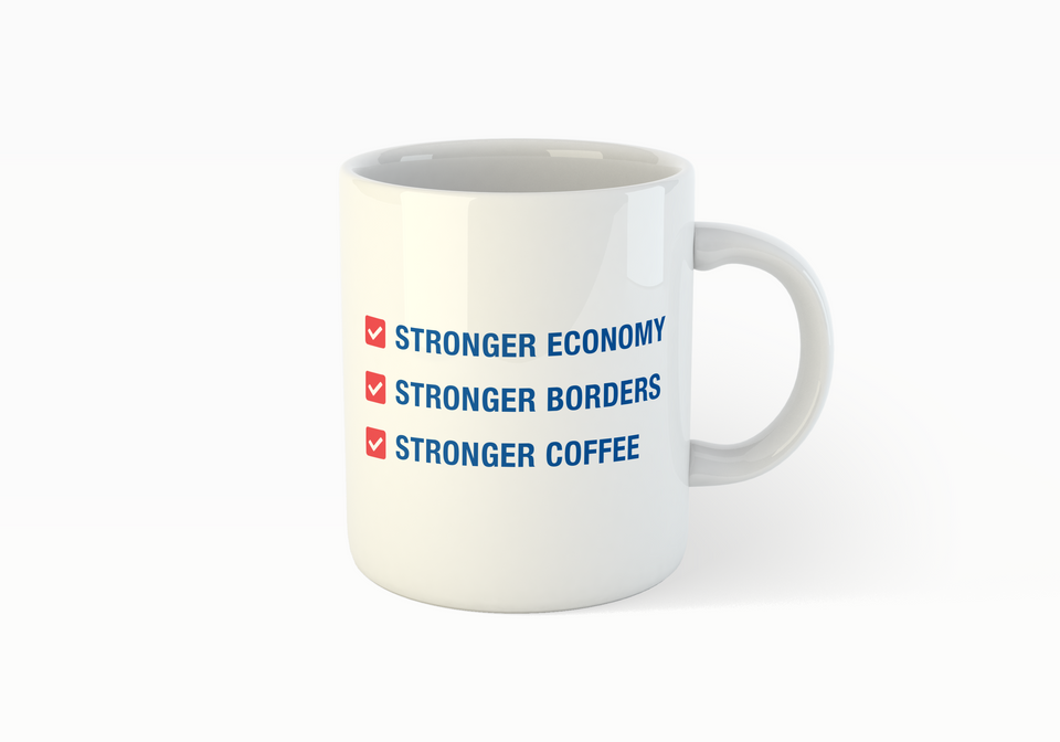 "Liberal Party ""Stronger Coffee"" Mug"