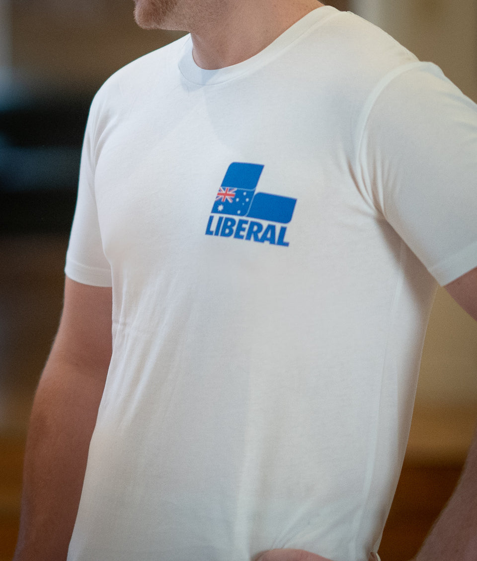 Liberal Party Men's T-Shirt (Slim Fit)