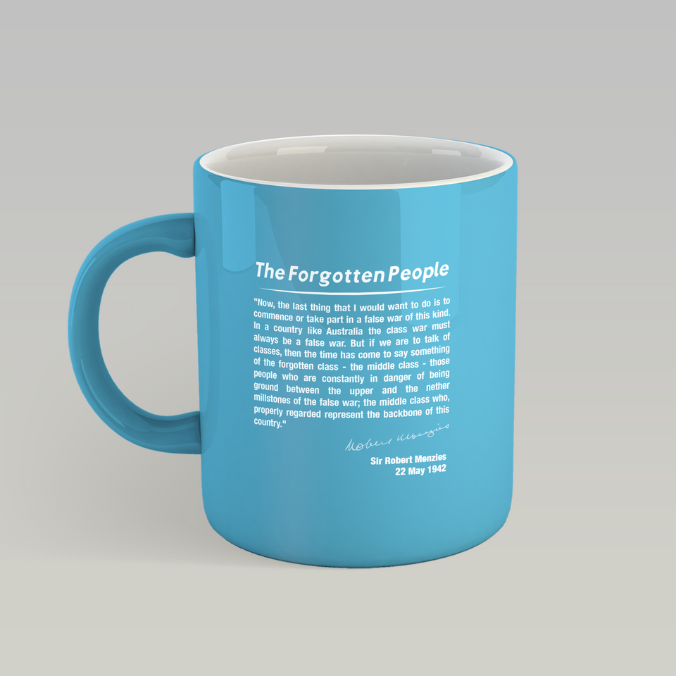 The Forgotten People Mug