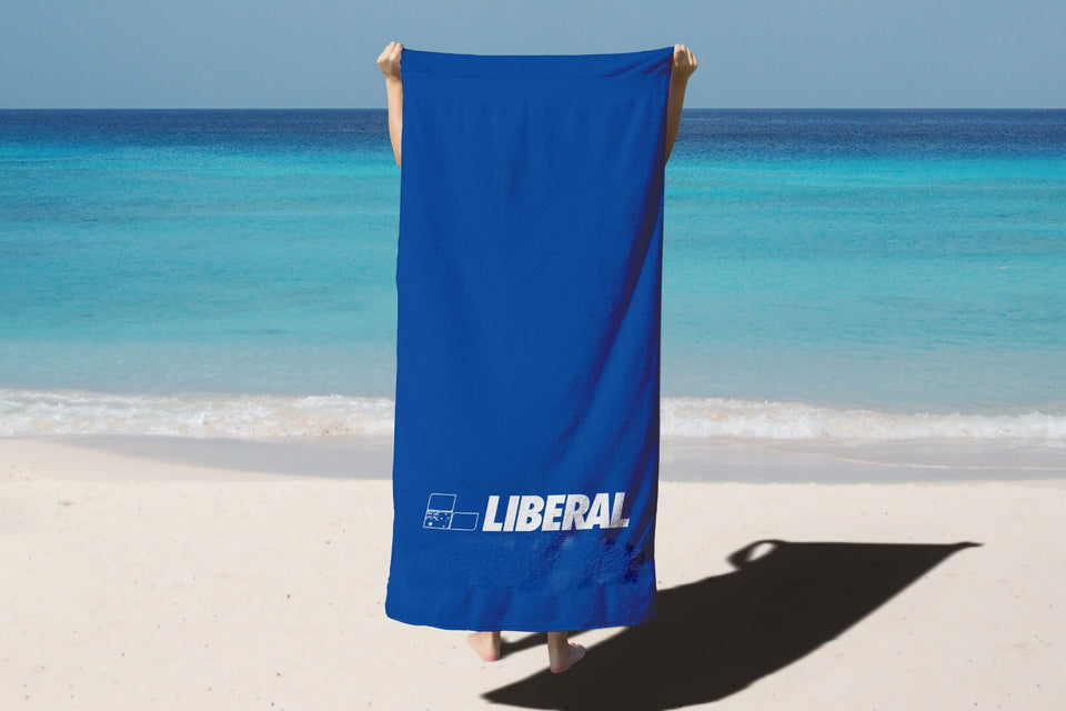 Liberal Party Beach Towel