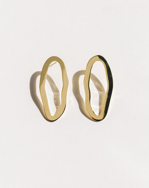 Belle Earrings - Gold