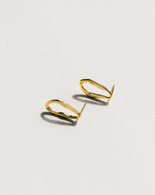 Francoise Earrings - Gold