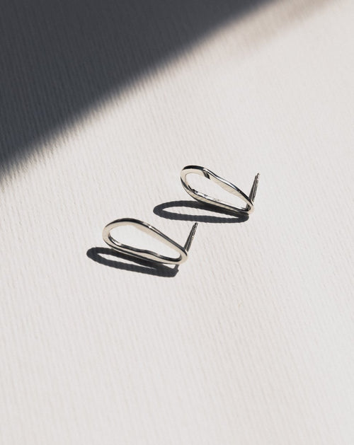 Francoise Earrings - Silver