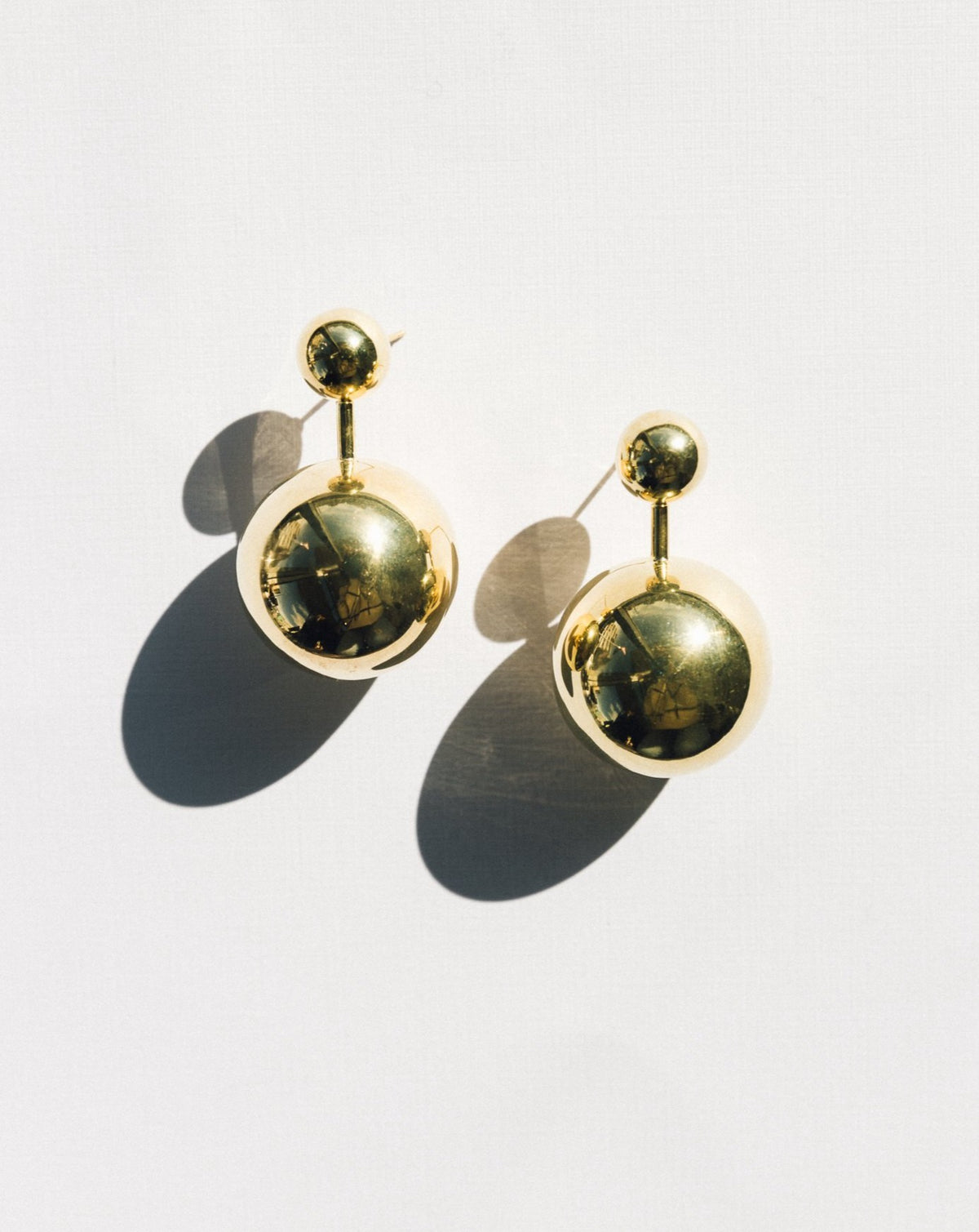 Violet Earrings - Gold