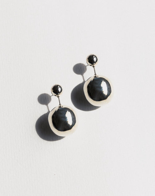 Violet Earrings - Silver