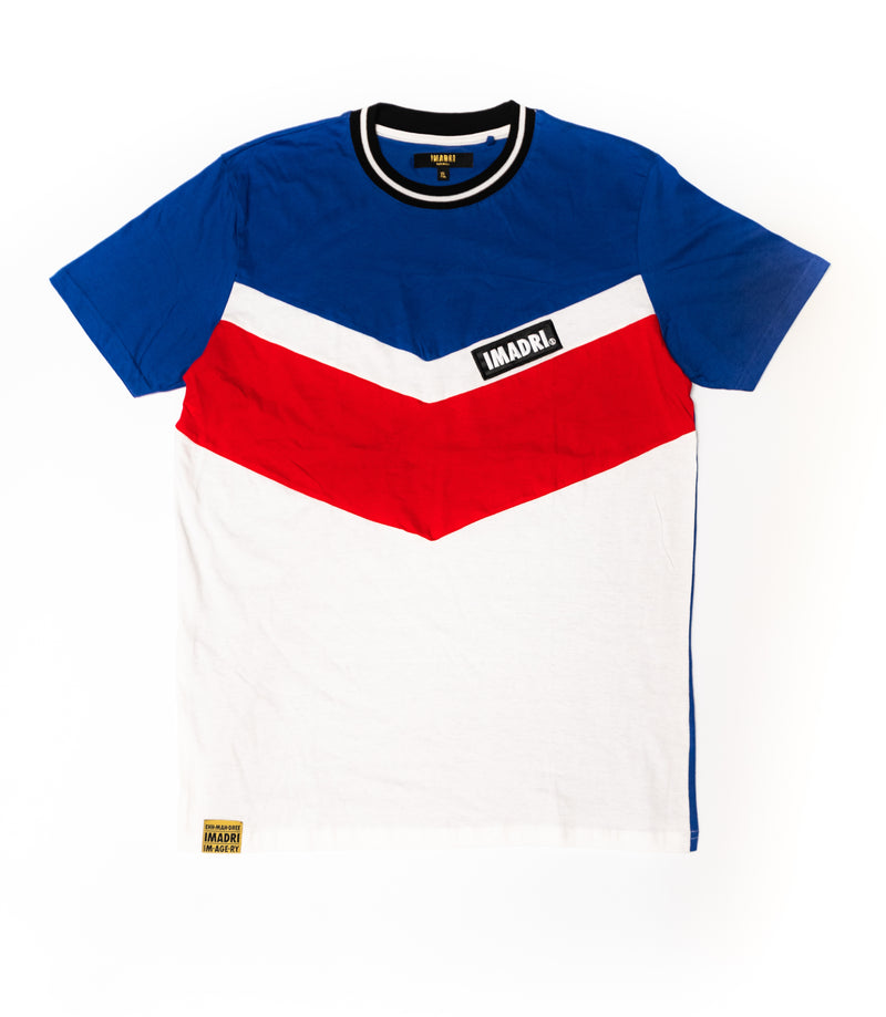 Zig Shirt - Royal/Red/White