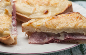 Crunch Sir or the insanely decadent and delicious Croque Monsieur Sandwich Recipe
