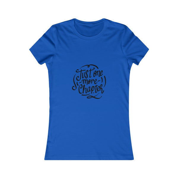 Just One More Chapter Women's Tee