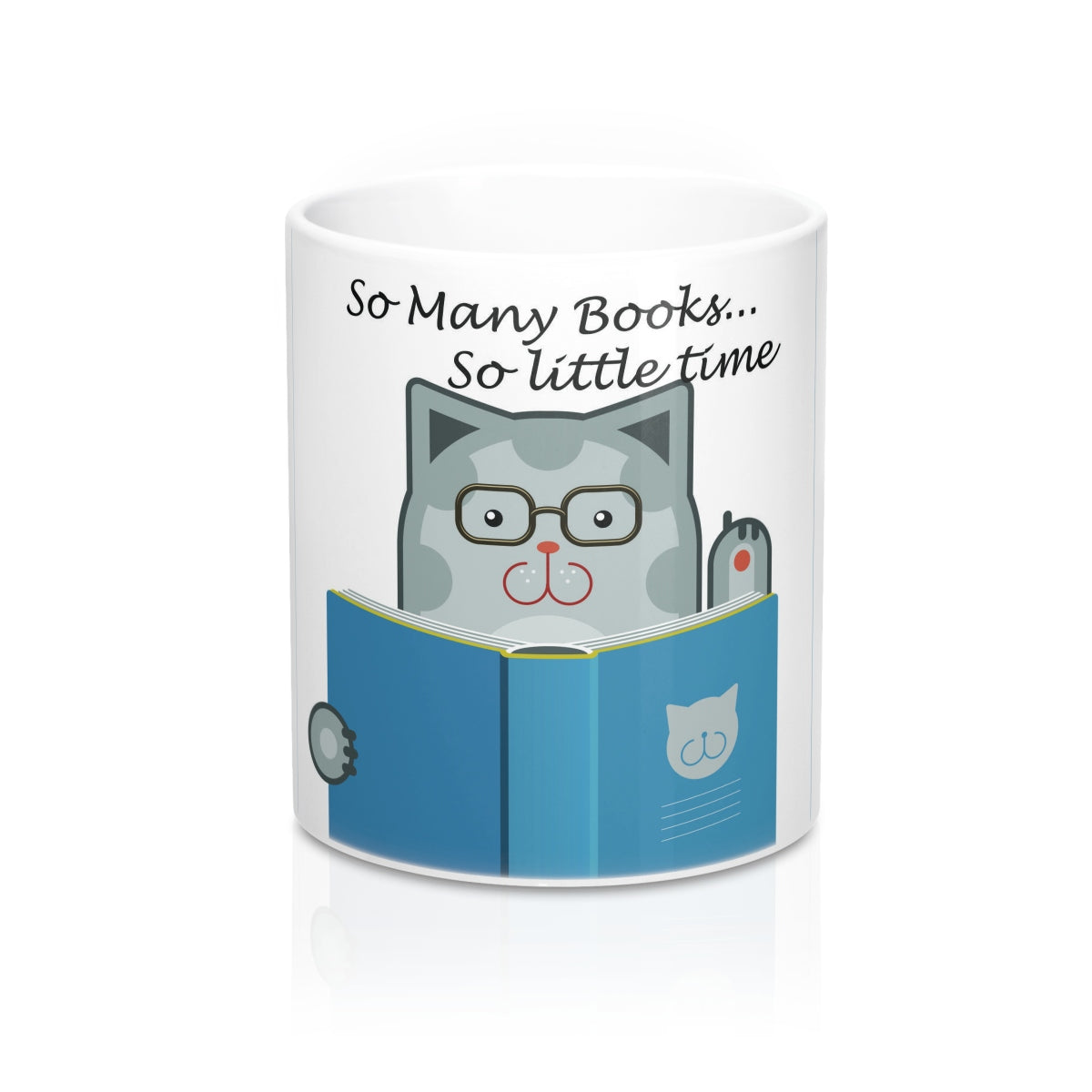 The Cat Says - So Many Books, So Little Time
