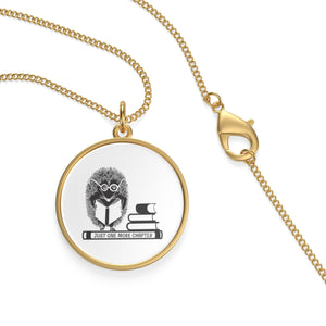 Hedgehog Just One More Chapter Necklace