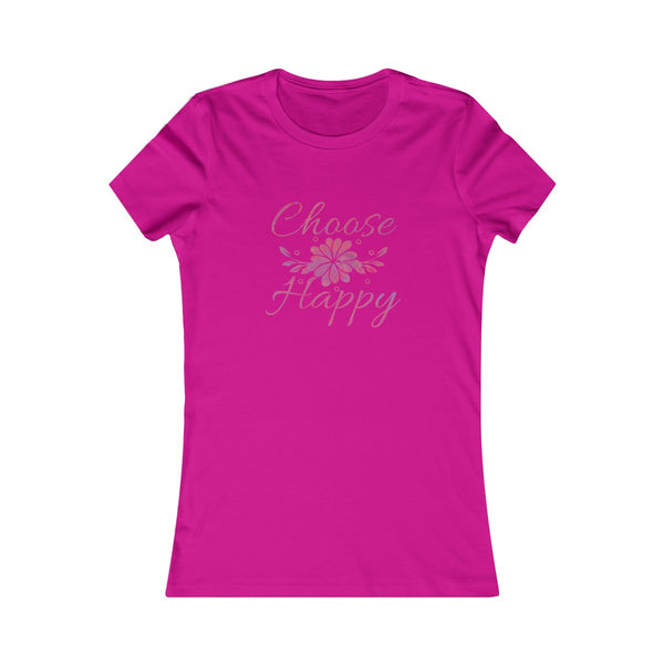 Choose Happy Women's Favorite Tee