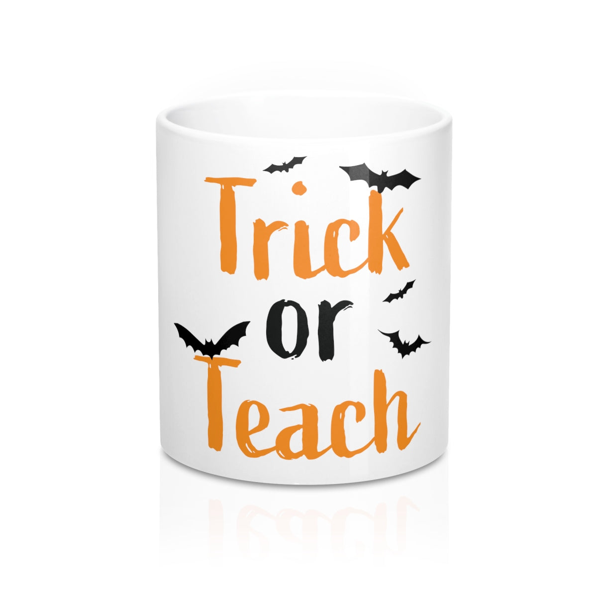 Trick or Teach 10 oz cofee mug