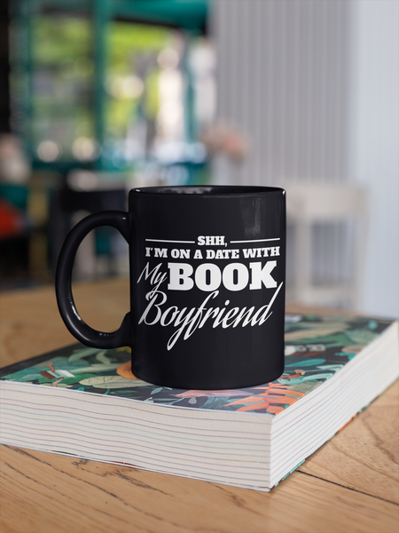 Shh, I'm on a Date with my Book Boyfriend