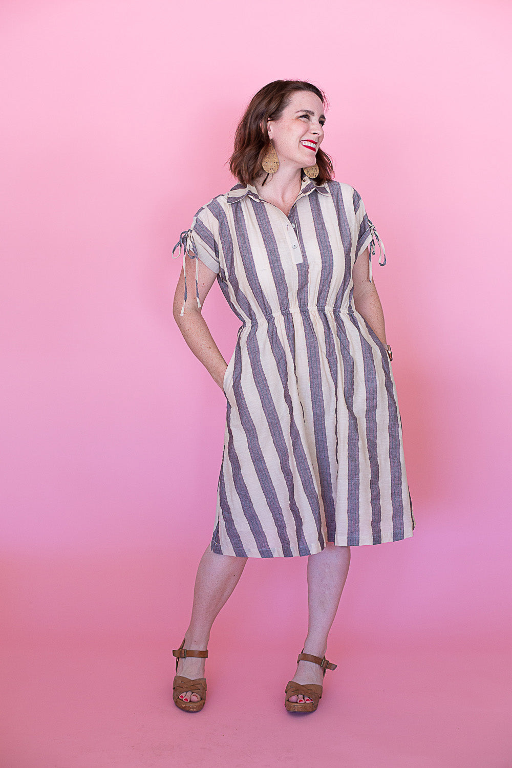 Beverly Striped Dress