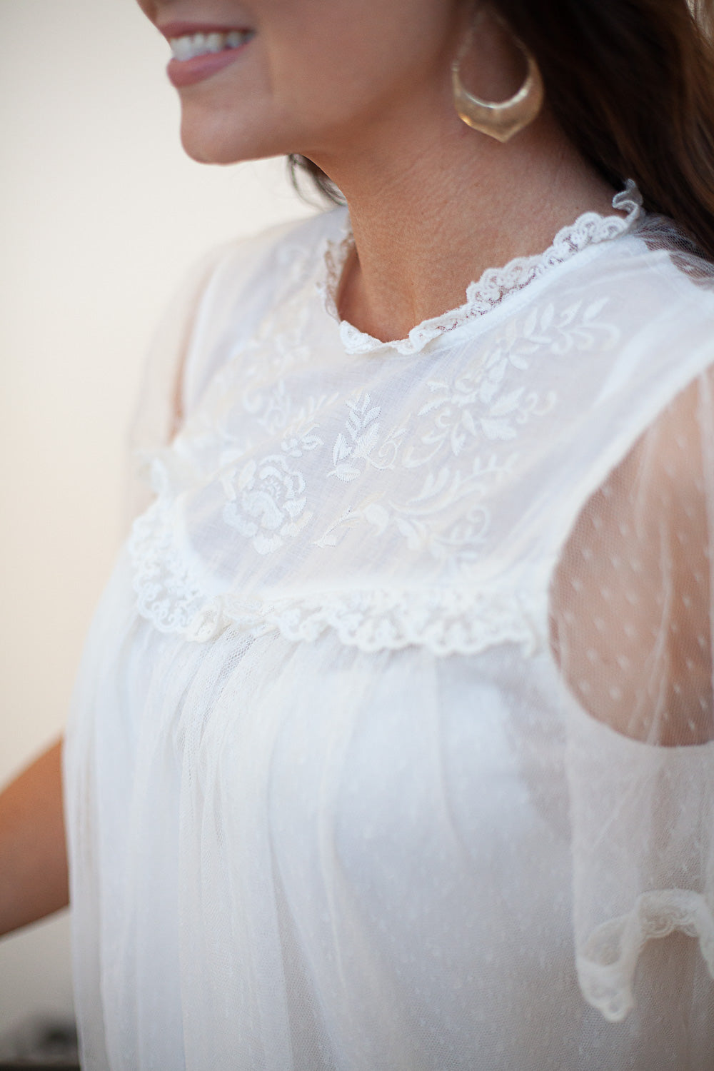 Ethereal Lace Blouse