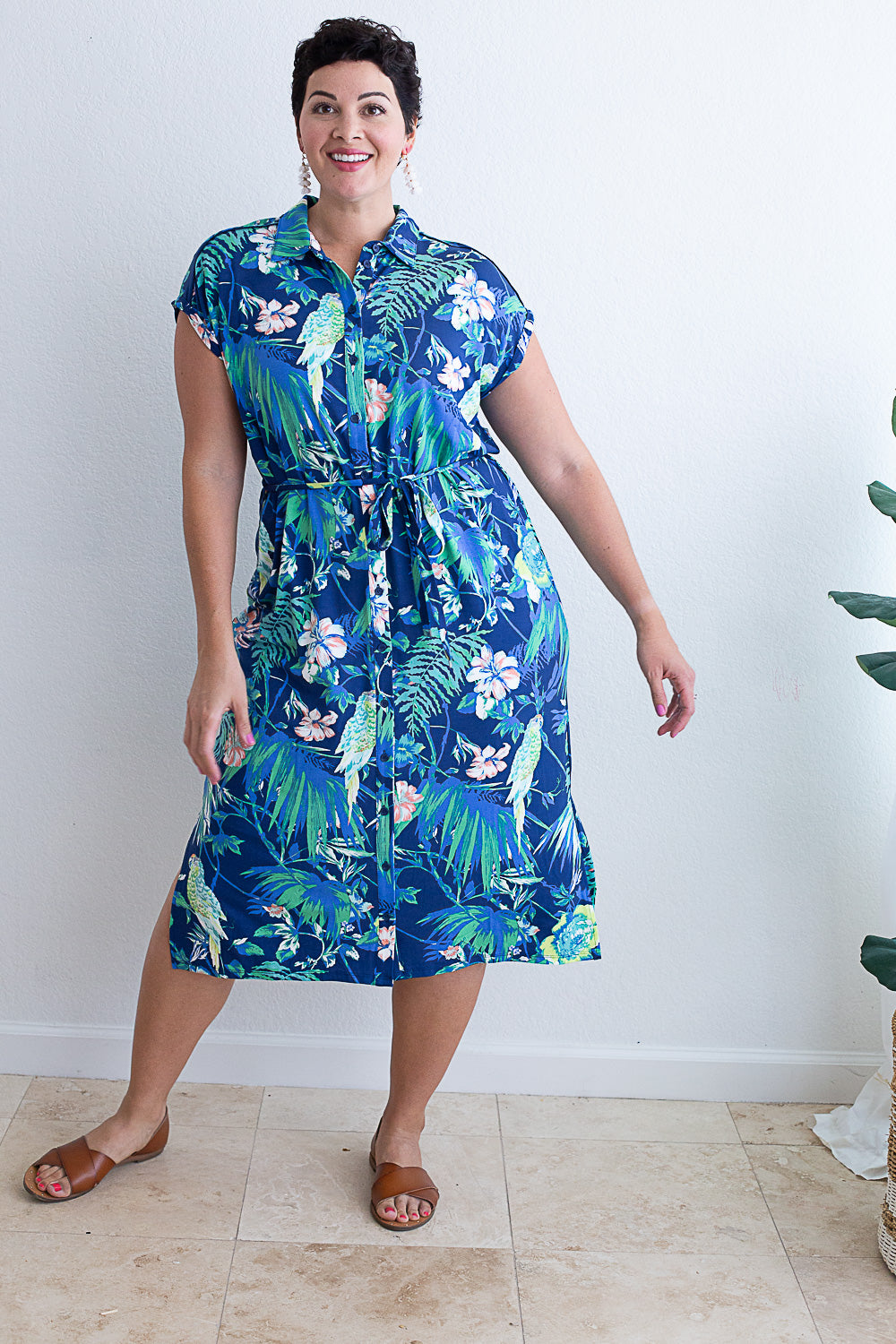 Tropicana Shirtdress