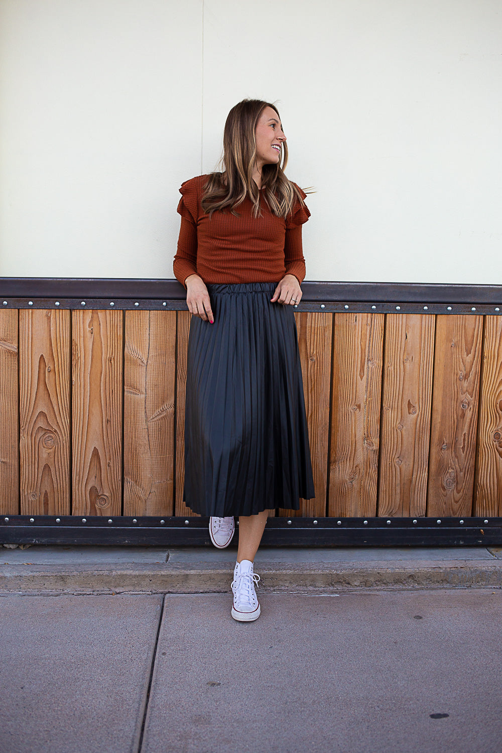Lola Pleated Skirt