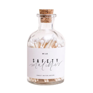 Safety Matches in Apothecary Jar