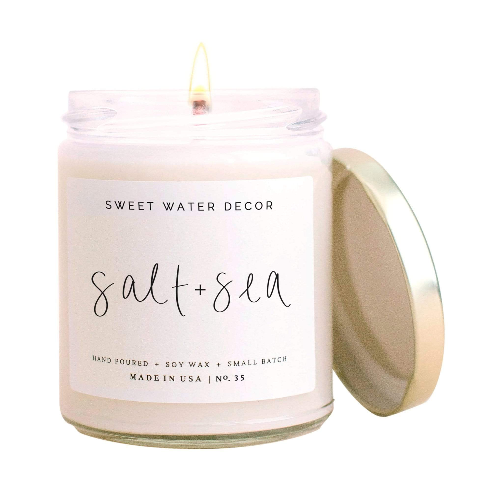 Salt & Sea Soy Candle