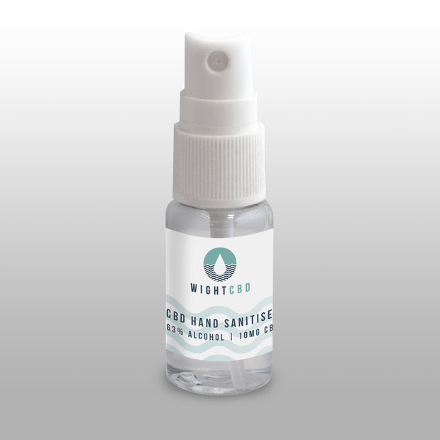 10ml Alcohol Based Hand Sanitiser Infused With CBD