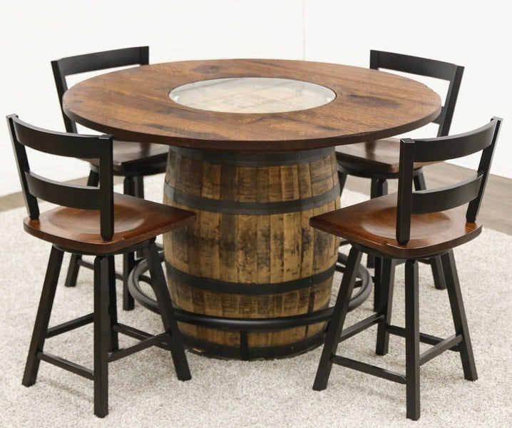 Trends Barrel Table And Chairs