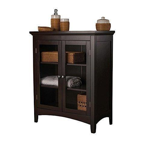 Try storage cabinets this floor cabinet will bring beauty as a bathroom storage cabinet linen cabinet or a general purpose hallway cabinet with its double glass door style