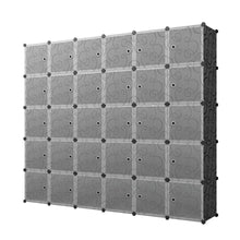 Load image into Gallery viewer, Amazon best kousi cube organizer storage cubes organizers and storage storage cube cube storage shelves cubby shelving storage cabinet toy organizer cabinet black 30 cubes