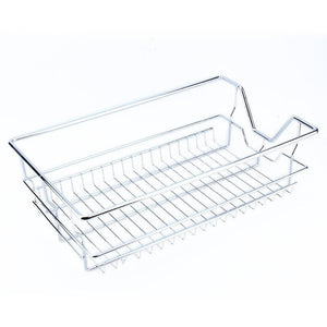 Latest kitchen sliding cabinet organizer pull out chrome wire storage basket drawer pull out cabinet shelf for kitchen cabinets cupboards 20 3 17 35 3