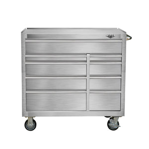 Related viper tool storage v412409ssr 41 9 drawer rolling cabinet 41 x 24 stainless steel