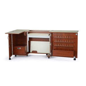 Top rated kangaroo kabinets wallaby 2 sewing cabinet teak