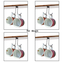 Load image into Gallery viewer, Save on yyst under cabinet mug cup holder banana hanger under cabinet storage rack 4 pk