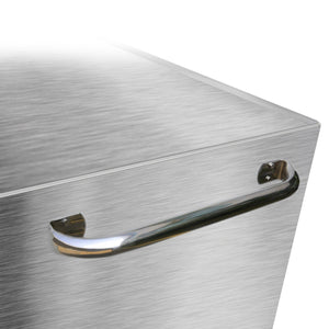 Save viper tool storage v412409ssr 41 9 drawer rolling cabinet 41 x 24 stainless steel