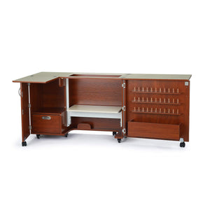 Amazon kangaroo kabinets wallaby 2 sewing cabinet teak