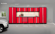 Load image into Gallery viewer, Shop here newage products 52354 pro 3 0 cabinetry set with stainless steel worktop red
