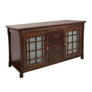 Top rated ronbow shoji 60 inch living room bathroom furniture in vintage walnut wood cabinet with three drawers wood countertop 040460 d f07_kit_1