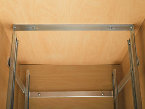 Shop for rev a shelf 5wb2 1218 cr 12 in w x 18 in d base cabinet pull out chrome 2 tier wire basket