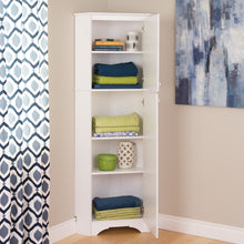 Load image into Gallery viewer, Best seller  prepac wscc 0605 1 elite home corner storage cabinet tall 2 door white