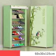 Load image into Gallery viewer, 8 Layer 10 Layer Combination Shoe Cabinet Simple Cloth Fabric Storage Shoes Rack Folding Dust-proof Shoe Shelf DIY Furniture