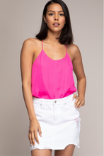 Load image into Gallery viewer, Cami Scoop Neck Racer back