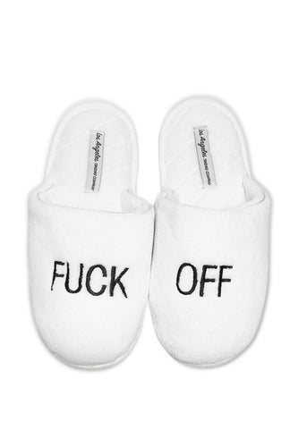 F Off Slippers