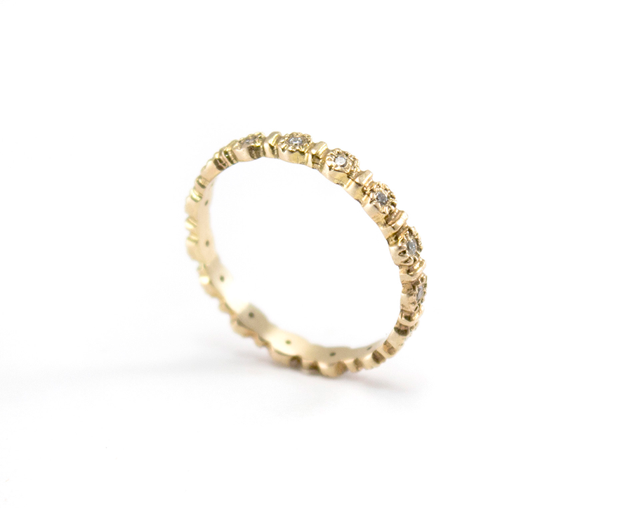 eternity flower ring